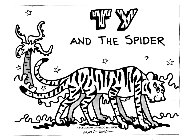 Ty and the Spider-1